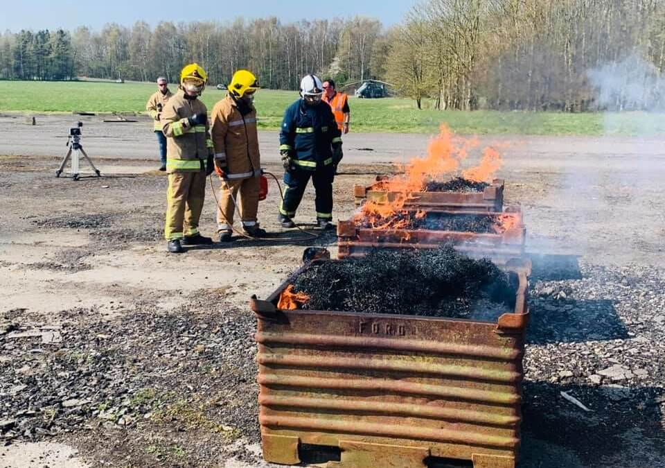 Helios Systems Ltd announce coldfire® to be used in their advanced Fire-Mist system