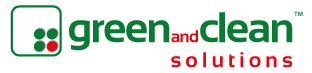 green and clean™ eco-friendly logo