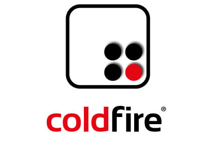 coldfire® firefighting logo