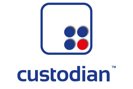 custodian™ fire suppression logo